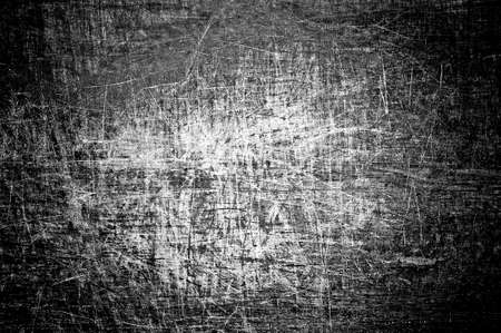 murky: Black and white grunge with scratch  Stock Photo