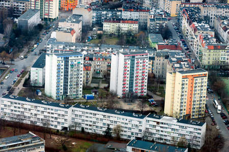bird 's eye view: Housing market in city of Wroclaw