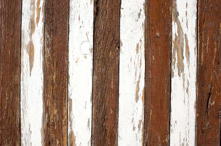 alternating: alternating white and brown zebra pattern boards Stock Photo