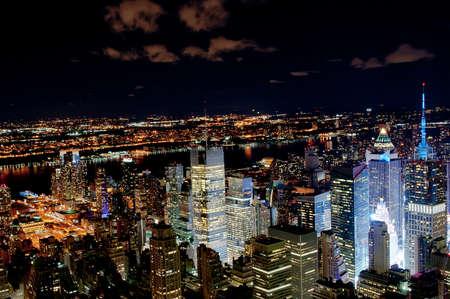 ニューヨーク市の夜
