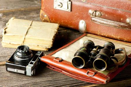 vintage journey set - travel arrangements photo