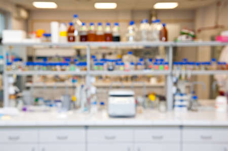 blurred laboratory  Stock Photo