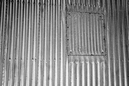 aircraft rivets: old steel airplane rivets sheets