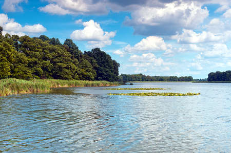 lake in Poland Stock Photo