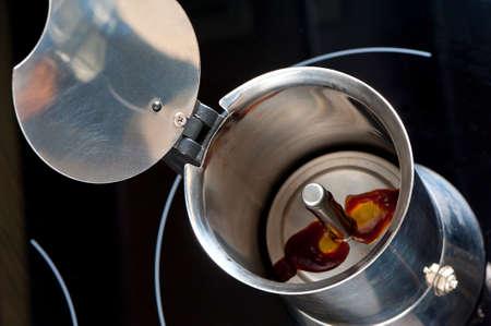percolate: making coffee in moka pot