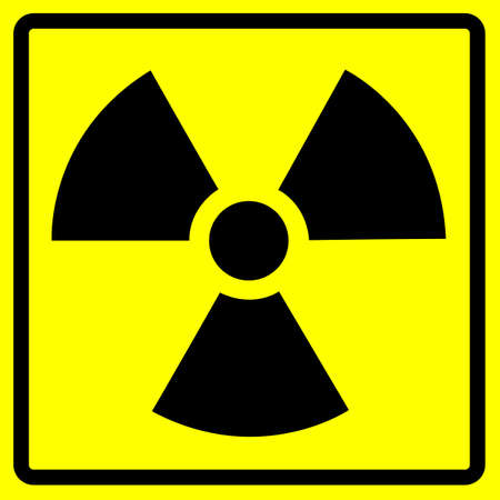 Radiation Sign Clean photo