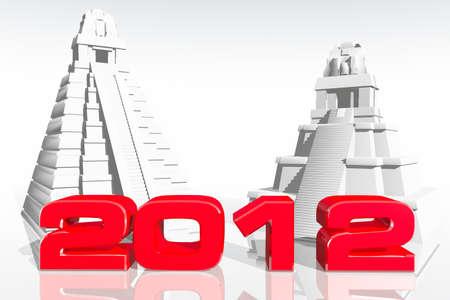 prediction: 2012 Maya Prediction Concept 3D render