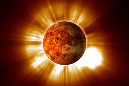 scientifical: Red Planet Stock Photo