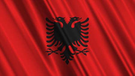 albania: Albania Flag