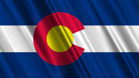 colorado: Colorado Flag Stock Photo
