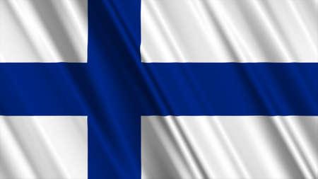 suomi: Finland Flag
