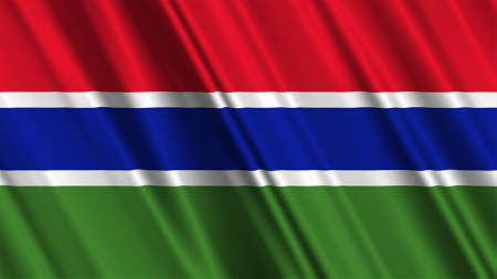 gambia: Gambia Flag