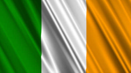irish pride: Ireland Flag