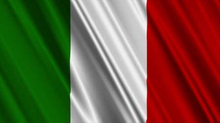 italien flagge: Italienische Flagge