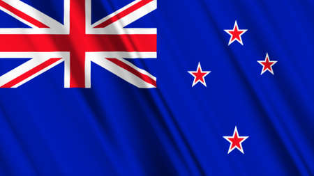 new zealand: New Zealand Flag Stock Photo