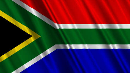 South Africa Flag photo