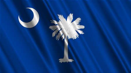 South Carolina Flag photo