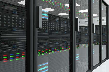 computer centre: CPU del servidor de habitaciones Unidad