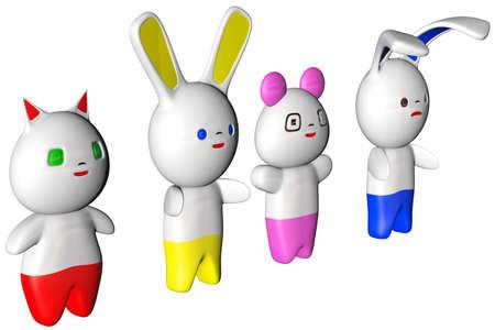cuteness: Japanese Kawaii Figures