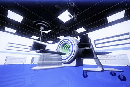 Operation Room HR MRI CT Machine