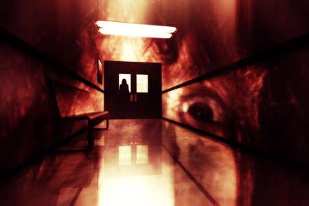 x files: Scary Horror Hospital Corridor 3D artwork