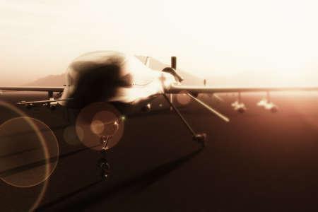 drones: Military Predator Type Drones Base 3D artwork