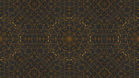 黄金のヒエログリフ Kaleida 図