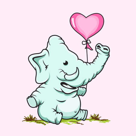 Cute Elephant Design