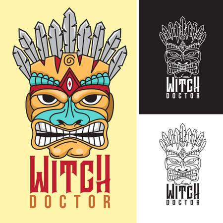 Witch Doctor icon design