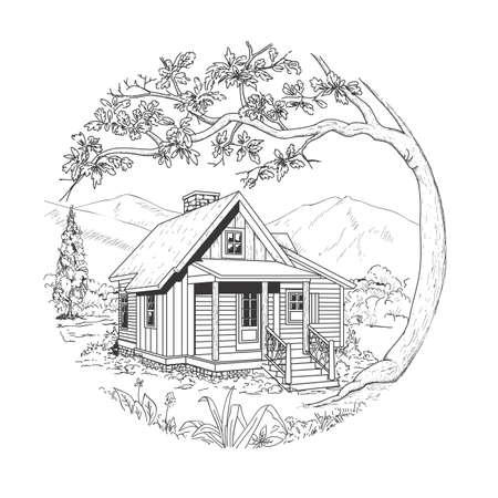Cabin icon