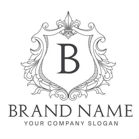 Royal emblem brand logo design