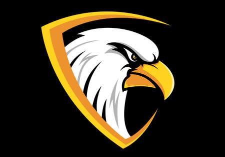 Eagle design sport icon design Illustration