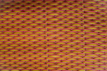 gaudy: Thai Esan pattern and gaudy color Handcraft art
