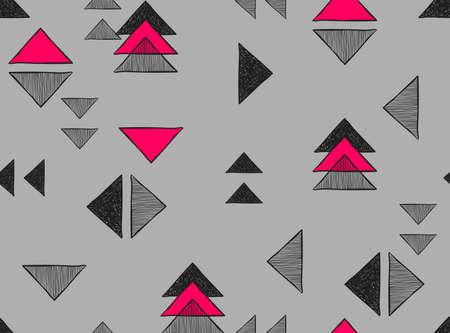 disegnato Vector abstract a mano di fondo per la progettazione e la decorazione tessile, coperchi, pacchetto, carta da imballaggio