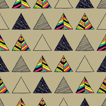 chevron pattern: Vector abstract Hand drawn background for design and decoration textile, covers, package, wrapping paper.