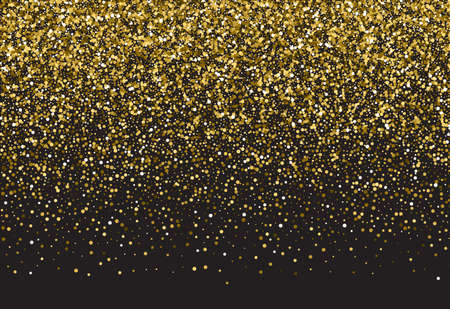 jewelle: Gold sparkle vector template for your text. Template for your design