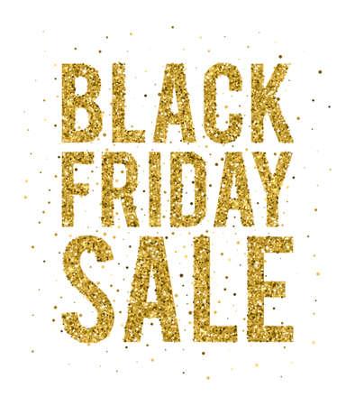 jewelle: Gold sale background for sale sign. Glitter Sale banner. Illustration