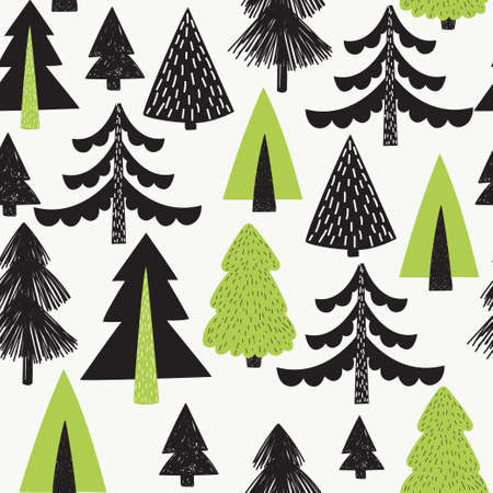 Scandinavian style. Abstract Hand drawn background for design and decoration textile, covers, package, wrapping paper. Banque d'images - 110524472