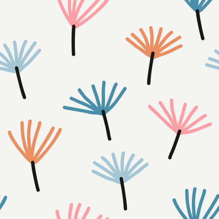 Abstract brushstroke background, colorful pattern.
