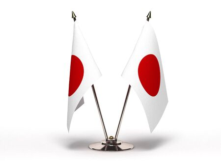 Miniature Flag of Japan (Isolated) photo