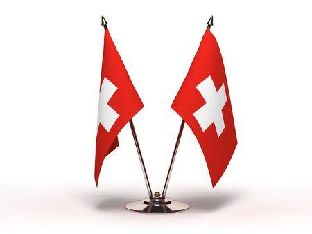 Miniature Flag of Switzerland