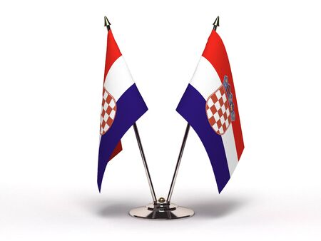 Miniature Flag of Croatia Stock Photo - 13078103