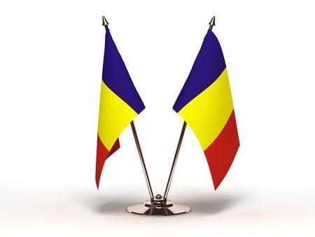 Miniature Flag of Romania Banque d'images