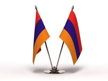 Miniature Flag of Armenia Stock Photo - 13373825