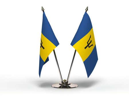 Miniature Flag of Barbados