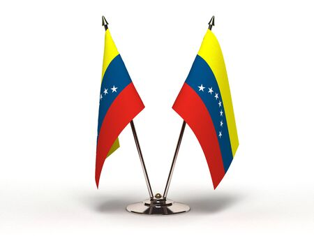 Miniature Flag of Venezuela (Isolated with clipping path) Stock Photo - 13554670