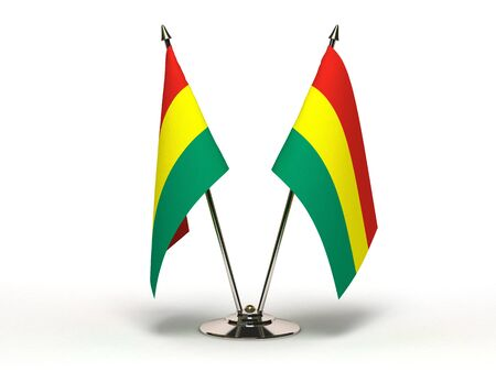 Miniature Flag of Bolivia Stock Photo - 15498710