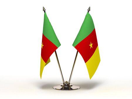 cameroon: Bandiera del Camerun in miniatura