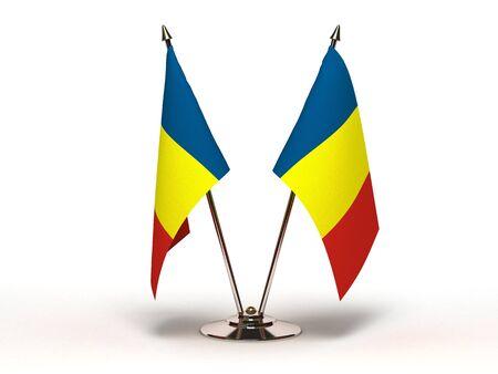 Miniature Flag of Chad  Stock Photo - 15498702