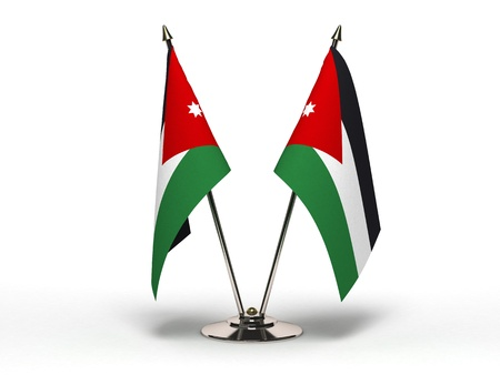 Miniature Flag of Jordan